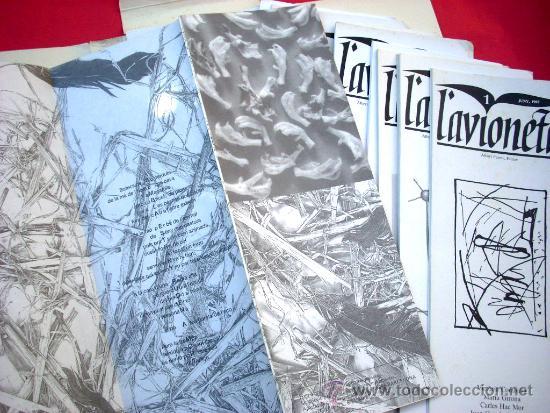 Arte: L'AVIONETA. 14 números. 1987 - 1996 - Col.lecció completa - Foto 5 - 39110881