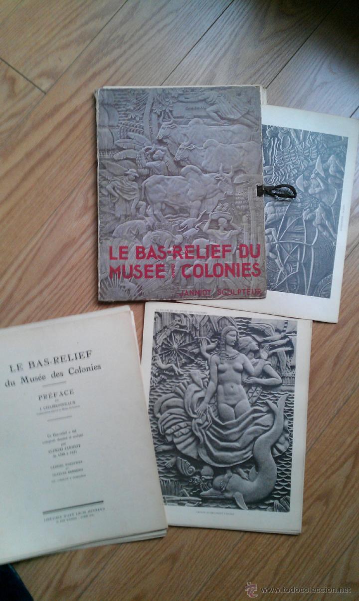 1930. AFRICA. 1930 LE BAS RELIEF DU MUSEE DES COLONIES ALFRED JANN (Arte - Catálogos)