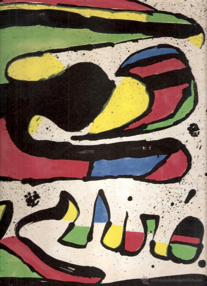 JOAN MIRÓ. HOMENATGE A GAUDÍ. 100 GRAVATS I 4 ESCULTURES RECENTS (1978-1979).GALERÍA MAEGHT. 1979. (Arte - Catálogos)