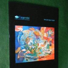 Arte: CAPGEMINI ANNUAL REPORT 2006 - ILUSTRADO CON 21 LAMINAS DE DIDIER DELAMONICA. Lote 39568981