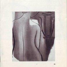 Arte: ROBERTA GONZALEZ. EXPOSICIÓN. CLUB URBIS. DEL 31 DE MARZO AL 9 DE ABRIL DE 1960.. Lote 39688933