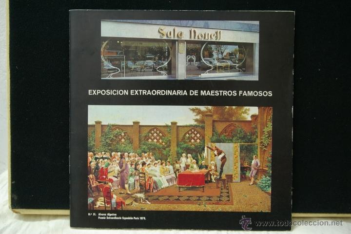 EXPOSICION EXTRAORDINARIO DE MAESTROS FAMOSOS -SALA NONELL (Arte - Catálogos)