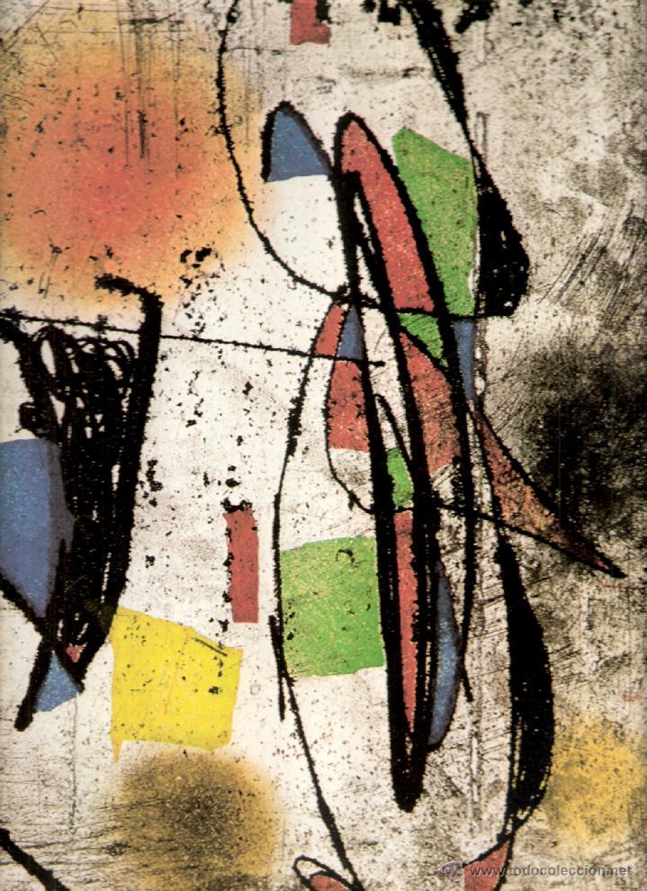 Arte: Joan Miró. Homenatge a Gaudí. 100 gravats i 4 escultures recents (1978-1979).Galería Maeght. 1979. - Foto 3 - 39762897