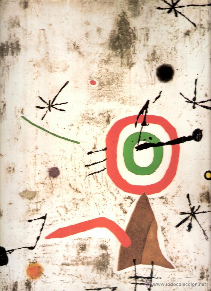 Arte: Joan Miró. Homenatge a Gaudí. 100 gravats i 4 escultures recents (1978-1979).Galería Maeght. 1979. - Foto 4 - 39762897