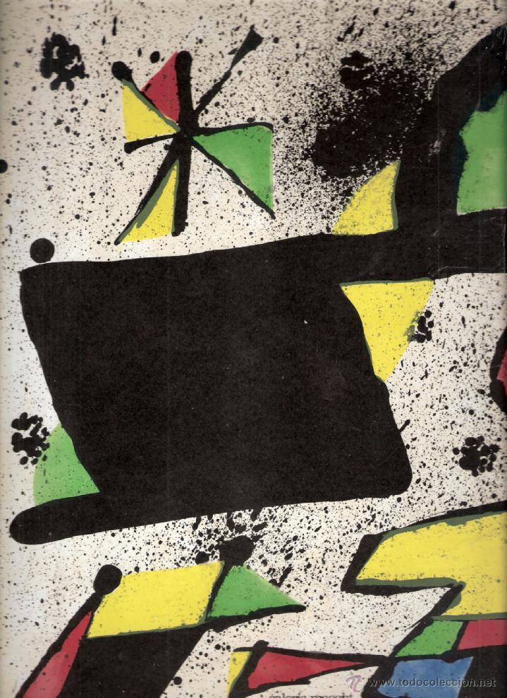 Arte: Joan Miró. Homenatge a Gaudí. 100 gravats i 4 escultures recents (1978-1979).Galería Maeght. 1979. - Foto 6 - 39762897