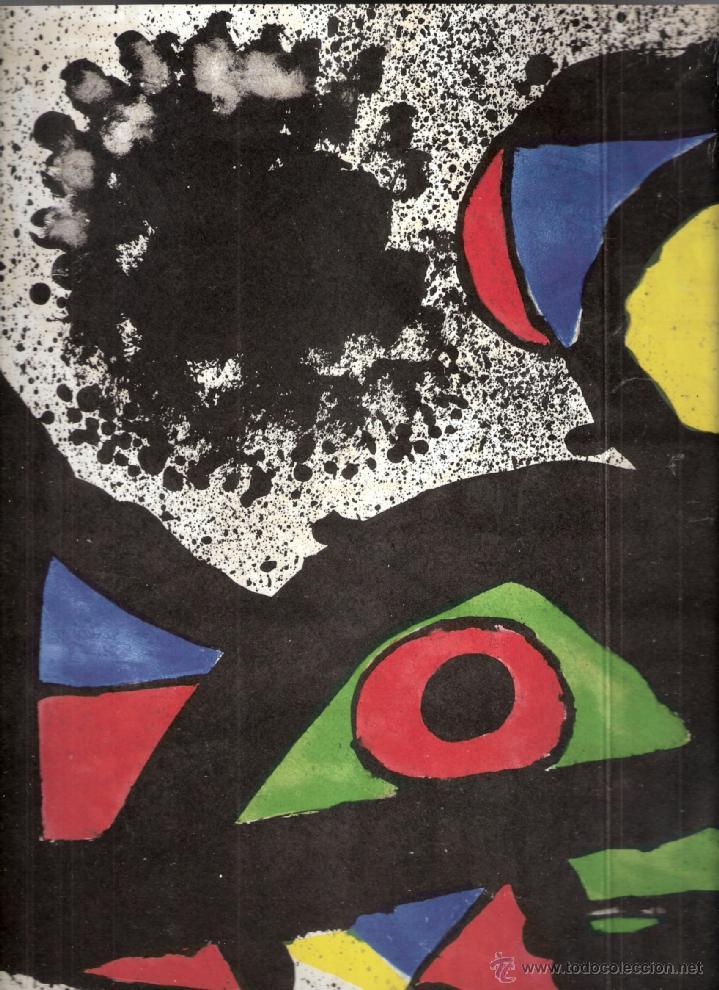 Arte: Joan Miró. Homenatge a Gaudí. 100 gravats i 4 escultures recents (1978-1979).Galería Maeght. 1979. - Foto 7 - 39762897