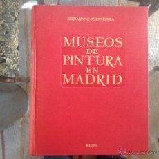 Arte: MUSEOS DE PINTURA EN MADRID, DE BERNARDINO DE PANTORBA, EDIT. MAYFE, 1955, 3 EDICIÓN.. Lote 40737104