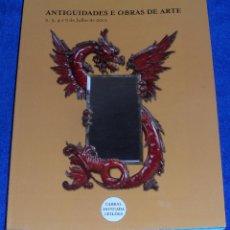 Arte: ANTIGUEDADES E OBRAS DE ARTE - CABRAL MOCADA LEILOES (2012). Lote 40759488