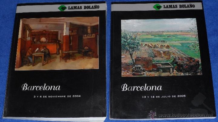 BARCELONA - LAMAS BOLAÑO (2004 / 2005) (Arte - Catálogos)