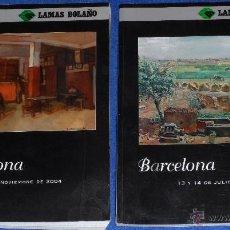 Arte: BARCELONA - LAMAS BOLAÑO (2004 / 2005). Lote 40759514
