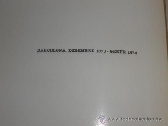 Arte: JOAN MIRO - SERIE MALLORCA - SALA ADRIA - BARCELONA DESEMBRE 1973-GENER 1974 CATALOGO - Foto 4 - 41129111