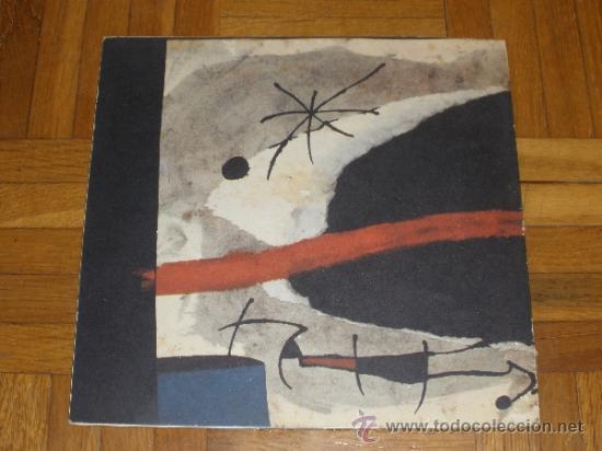 Arte: JOAN MIRO - SERIE MALLORCA - SALA ADRIA - BARCELONA DESEMBRE 1973-GENER 1974 CATALOGO - Foto 5 - 41129111