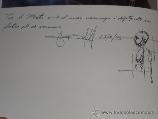 Arte: JOSEP BOFILL - CATÁLOGO CON DEDICATORIA DIBUJO - BALTASAR PORCEL - RAFAEL SANTOS TORROELLA - Foto 3 - 41131119