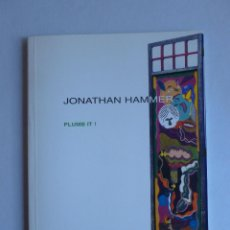 Arte: PLUMB IT. JUONATHAN HAMMER. FUCARES 2005. Lote 42943555