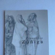 Arte: FRANCISCO ZUÑIGA. GALERIA ENRIQUE GUERRERO. MEXICO. 2002 3O PAG. Lote 42944367
