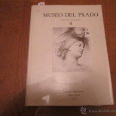 Arte: MUSEO DEL PRADO CATALOGO DE DIBUJOS II. DISEÑOS ESPAÑOLES SIGLO XVIII A-B. POR ROCÍO ARNÁEZ.. Lote 43044740
