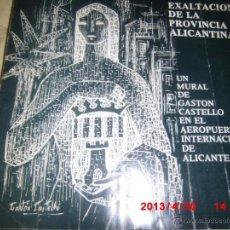 Arte: GASTON CASTELLO MURAL DE GASTON CASTELLO AEROPUERTO ALICANTE TRIPTICO. Lote 43087196