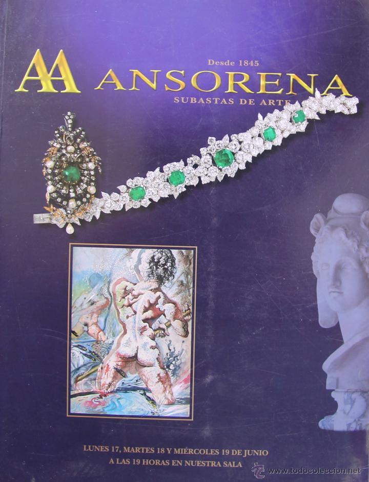 Ansorena catalogo de subastas de arte n 246 j comprar - Bonanova subastas catalogo ...