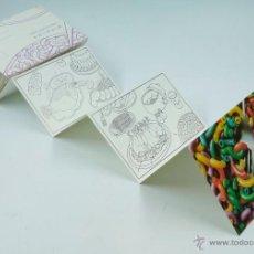 Arte: ANTONI MIRALDA, FOOD COLORING CARDS, 17X13 CM. PLEGADO, VER FOTOS ANEXAS. Lote 43187803