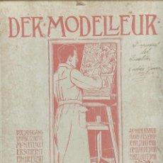 Arte: 'DEL MODELLLER'. CARPETA/REVISTA DE ESCULTURA DECORATIVA.CON 54 LAMINAS FOTOGRÁFICAS. 1899. FOLIO . . Lote 43348191