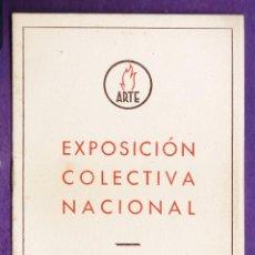 Arte: CATALOGO DE ARTE - SALA ARTE / BARCELONA - EXPOSICION COLECTIVA NACIONAL - AÑO 1942 - RD18. Lote 43447612