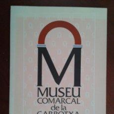 Arte: GUÍA MUSEU MUSEO COMARCAL DE LA GARROTXA OLOT 32 PG PINTURA ESCULTURA. Lote 43504120
