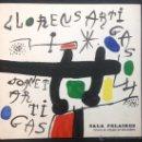 Arte: SALA PELAIRES, PALMA MALLORCA. LLORENS ARTIGAS, JOANET ARTIGAS. 21 X 22. 1971. 20 PÁG. . Lote 43857134
