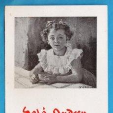 Arte: CATALOGO EXPOSICION - SOLA ANDREU - EN SALA BUSQUETS - BARCELONA - AÑO 1946 - RD15J. Lote 44016805