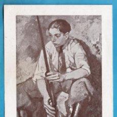 Arte: CATALOGO / INVITACION - EXPOSICION CINC ANYS DE PINTURA - F. LABARTA - SALA BUSQUETS - AÑO 1935. Lote 44910268