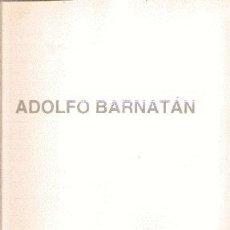 Arte: ADOLFO BARNATAN (2000) /// CALVO SERRALLER, FRANCISCO (TEXTO). Lote 44931156