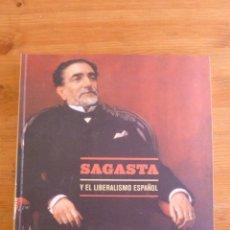 Arte: SAGASTA Y EL LIBERALISMO ESPAÑOL. FUND. BBVA . 2000 436 PAG. Lote 44995913