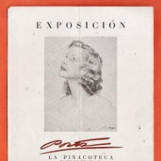 Arte: CATALOGO / INVITACION - EXPOSICION PINTURAS - PORTA - SALA LA PINACOTECA / BCN - AÑO 1942. Lote 45005746