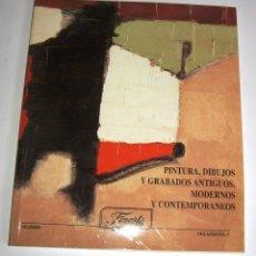 Arte: CATALOGO DE SUBASTAS FINARTE 16 MARZO 1999. Lote 50406829