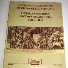 Arte: CATALOGO DE SUBASTAS FINARTE 6 OCTUBRE 1999. Lote 45111565