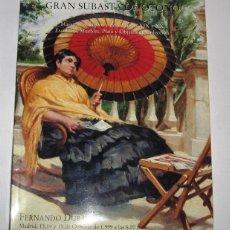Arte: CATALOGO DE SUBASTAS FERNANDO DURAN 15 OCTUBRE 1999. Lote 45123132