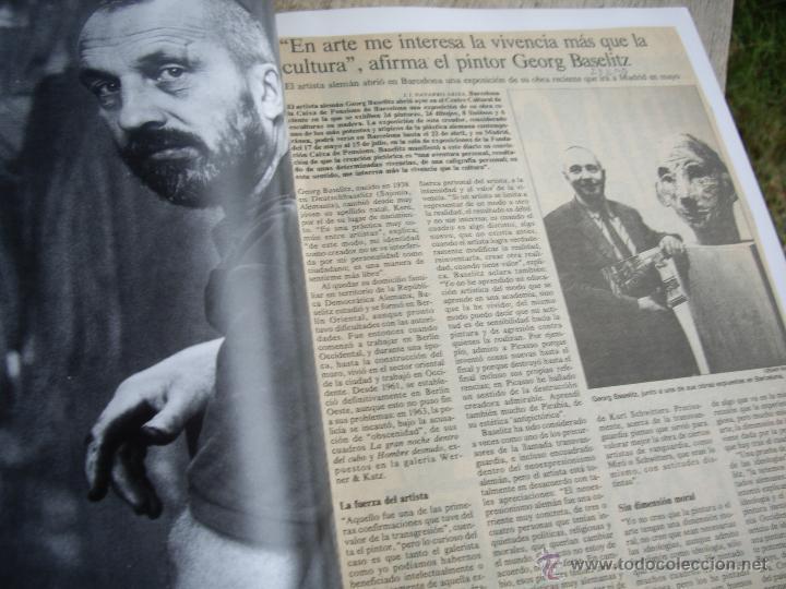 Arte: GEORG BASELITZ catálogo Expo Milan , Edizioni Bolis 1991 - Foto 3 - 45354696