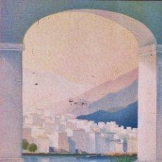 Arte: POSTAL / INVITACION - EXPOSICIO PINTURAS F. CASADEMONT - CADAQUES - SALA NONELL / BCN - AÑO 1989. Lote 45443816