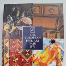 Arte: CATALOGO DE 1991 MAASTRICHT DE LA FERIA DE LAS BELLAS ARTES EUROPEAS TEFAF LEER DESCRIPCION. Lote 45446076