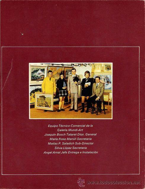 Arte: I Exposición Colectiva del 73. Pintores de la Galera Mundi Art. 1973 - Foto 3 - 46038266