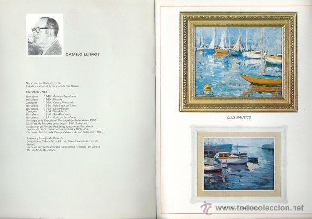 Arte: I Exposición Colectiva del 73. Pintores de la Galera Mundi Art. 1973 - Foto 4 - 46038266