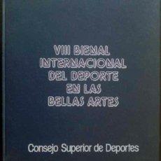 Arte: VIII BIENAL INTERNACIONAL DEL DEPORTE EN LAS BELLAS ARTES - LIBRO CON 80 DIAPOSITIVAS DE LAS OBRAS. Lote 34543372