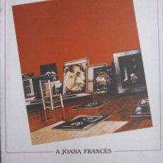 Arte: A JOANA FRANCÉS -HOMENATGE-. CENTRE CULTURAL D´ALCOI. Lote 46437586