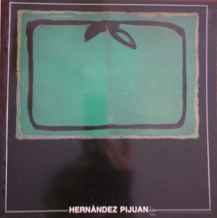 INTERESANTE CÁTALOGO Y POSTAL DE HERNÁNDEZ PIJOAN. CENTRE DE CULTURA D´ALCOI (Arte - Catálogos)