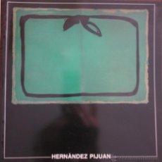 Arte: INTERESANTE CÁTALOGO Y POSTAL DE HERNÁNDEZ PIJOAN. CENTRE DE CULTURA D´ALCOI. Lote 46461147