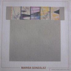 Arte: MARISA GONZÁLEZ. CENTRE DE CULTURA D´ALCOI. Lote 46512841
