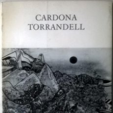 Arte: CARDONA TORRANDELL - DAU AL SET. Lote 46702354