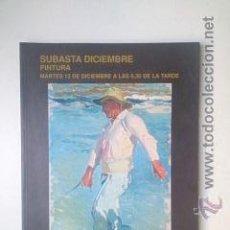 Arte: SUBASTA DICIEMBRE, PINTURA, 13-12-2005, SEGRE.. Lote 46928659