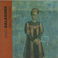 Arte: JULIO BALAGUER OBRES 1984-2002. Lote 46985281