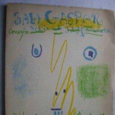 Kunst - SALA GASPAR. Consejo de Ciento. PICASSO. DIBUJOS, GOUACHES, ACUARELAS. Abril 1961 - 47535952