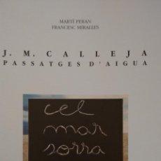 Arte: J.M. CALLEJA. PASSATGES D´AÏGUA. CENTRE CULTURAL D´ALCOI.. Lote 48163919